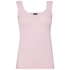 Phase Eight - Pale pink lace trim camisole