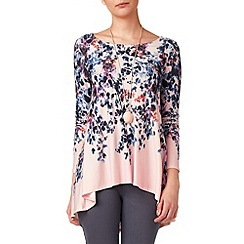 Phase Eight - Pale pink phillipa longline top