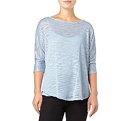 Phase Eight - Pale Blue saskia slub top