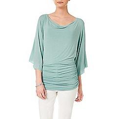Phase Eight - Cameo Green tallie kimono sleeve top