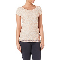 Phase Eight - Suze spot lace top