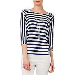 Phase Eight - Carris cutabout stripe top