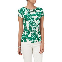 Phase Eight - Fionn fern print top