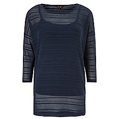 Phase Eight - Navy sydney stripe top