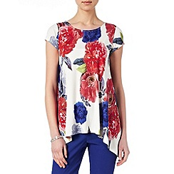 Phase Eight - Multi-coloured electra print top