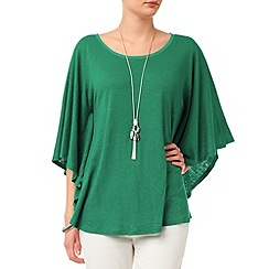 Phase Eight - Green louise linen top