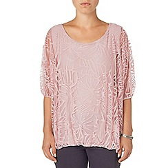 Phase Eight - Pink cecily burnout top