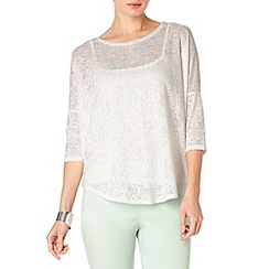 Phase Eight - Lace catrina top