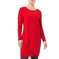 Phase Eight - Dotty Draped Tunic