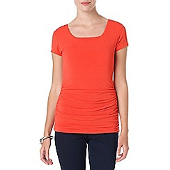 Phase Eight - Paprika lucinda square neck top