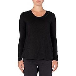 Phase Eight - Charcoal belinda double layer top