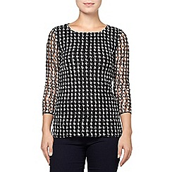 Phase Eight - Dogtooth lace top
