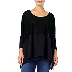 Phase Eight - Winnie woven hem top