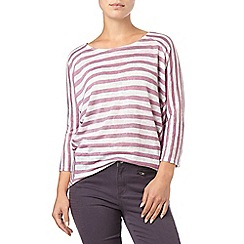 Phase Eight - Purple Carris Stripe Top