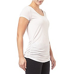 Phase Eight - White gilly gathered t-shirt