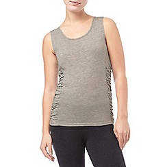 Phase Eight - Silver Marl gigi gathered vest