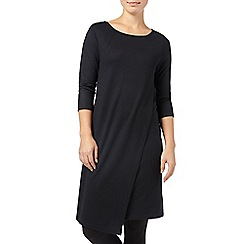 Phase Eight - Black ada wrap tunic