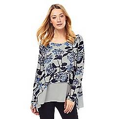 Phase Eight - Hydrangea Print Top