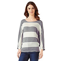 Phase Eight - Stripe Batwing Top