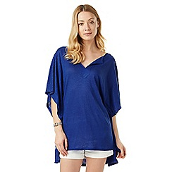 Phase Eight - Linen kaftan Top