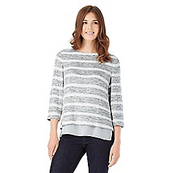 Phase Eight - Rae Space Dye Stripe Top