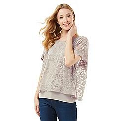 Phase Eight - Fatima Floral Burnout Top