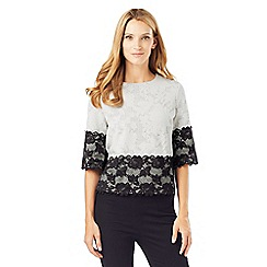 Phase Eight - Jacquard Lace Top