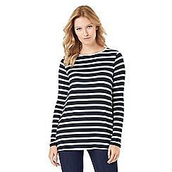 Phase Eight - Petra Pleat Back Stripe Top