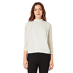 Phase Eight - Pleated jersey blouse