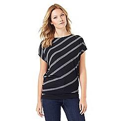 Phase Eight - Amy Asymmetric Stripe Top