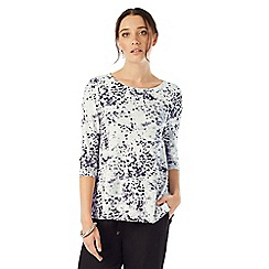Phase Eight - Blurred Print Top