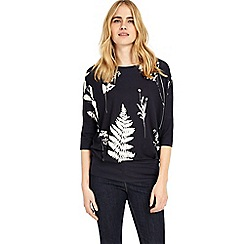 Phase Eight - Blue conway print top