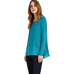 Phase Eight - Peacock ciera double layer top