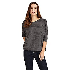Phase Eight - Charcoal marl wendy wave textured top