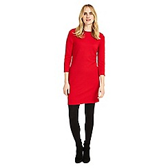 Phase Eight - Red tilly textured tunic top
