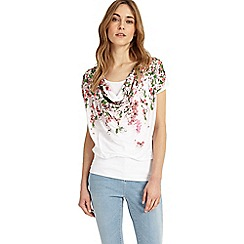 Phase Eight - Multi-coloured hydrangea print top
