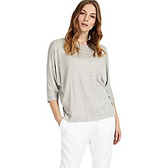 Phase Eight - Grey Gilly Gathered  Top
