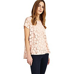 Phase Eight - Pink Becky Burnout Top