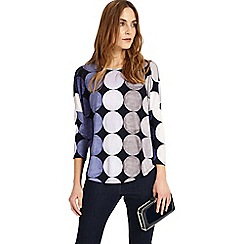 Phase Eight - Grey Savi Spot Top