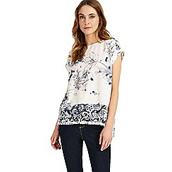 Phase Eight - Blue fonda floral top