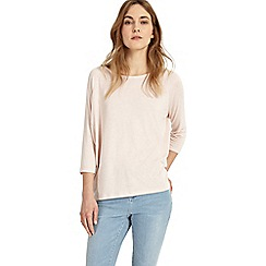 Phase Eight - Pale pink plain carris top