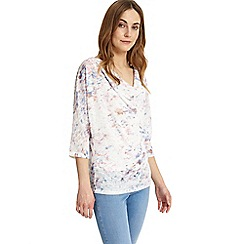 Phase Eight - Avalon blurred print top