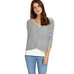 Phase Eight - Navy and white Sharon stripe top