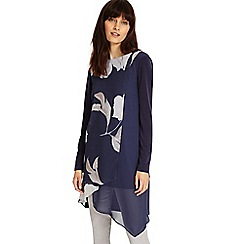 Phase Eight - Navy vinny floral tunic