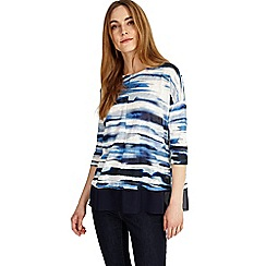 Phase Eight - Patricia painted stripe top