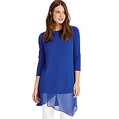 Phase Eight - French Blue vinny 3/4 sleeve tunic