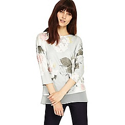 Phase Eight - Multi-coloured bertha floral top