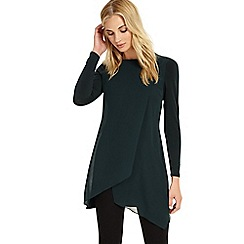 Phase Eight - Pine vinny long sleeves tunic