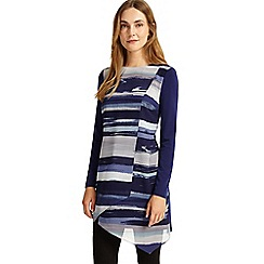 Phase Eight - Blue striped vinny tunic