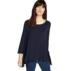 Phase Eight - Navy tiffany tiered top